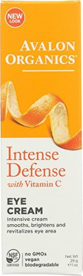 Avalon Organics Intense Defense Eye Cream provides intense moisture to the delicate skin under the eyes