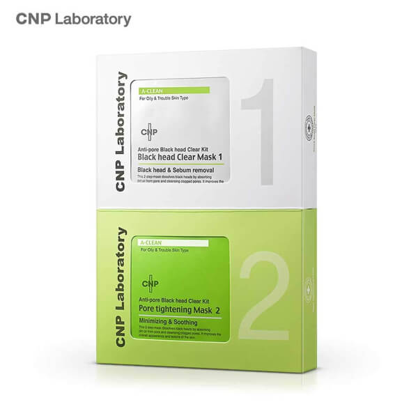 CNP Laboratory – Anti-Pore Blackhead Clear Kit uses unique ingredients that ensure promising results with the removal of blackheads
