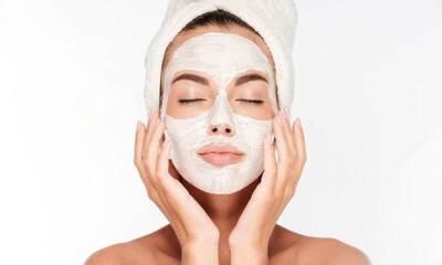 Face masks and massage gives your skin a healthy and supple look
