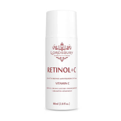 Lordsbury Retinol Moisturizer keeps the skin fair and bright by increasing the collagen production
