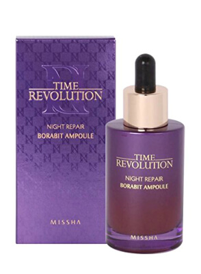 MISSHA Time Revolution Night Repair Probio Ampoule for intense moisture-locking properties