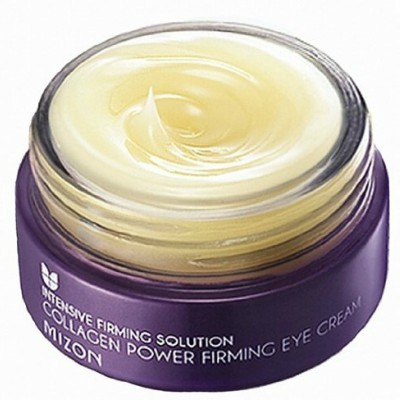 MIZON Collagen Power Firming Eye Cream is among the best Korean eye cream for dark circles and puffiness and also the best Korean eye cream for fine lines