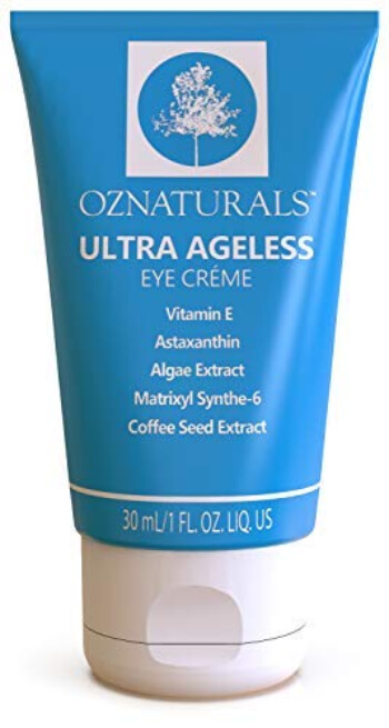 OZNaturals Eye Cream For Dark Circles & Puffiness delivers an unparalleled puffiness relief, anti-aging benefits, and relief for fine lines and wrinkles