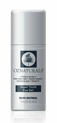 OZNaturals Super Youth Eye Gel address eye region issues such as puffiness, fine lines, and wrinkles caused by aging, dehydration and sun damage