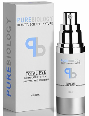 "Pure Biology ""Total Eye"" Anti-Aging Eye Cream as the best Korean eye cream for dark circles and puffiness"
