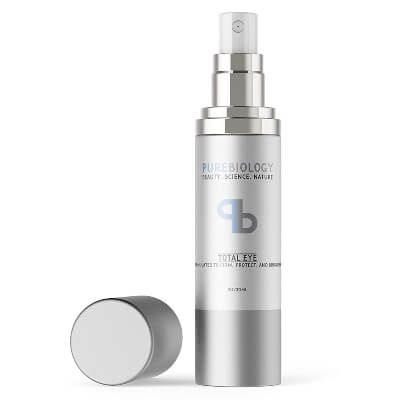 "Pure Biology ""Total Eye"" Anti-Aging Eye Cream is an all organic eye cream that is derived from natural sources"