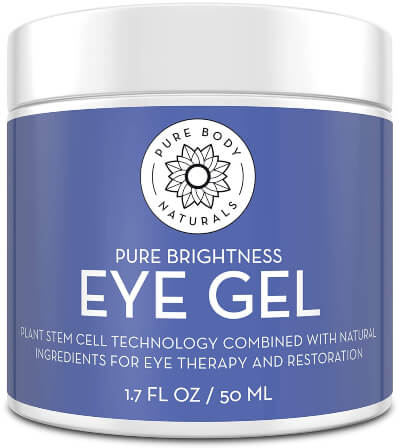 Pure Body Naturals Age Defying Eye Gel the best Korean eye cream for puffiness and wrinkles