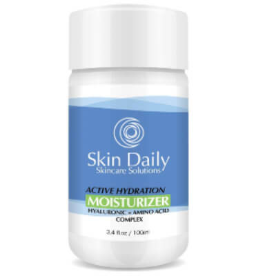 Skin Daily Skin Care Solutions Moisturizer diminish wrinkles, brown spots, and unclog pores