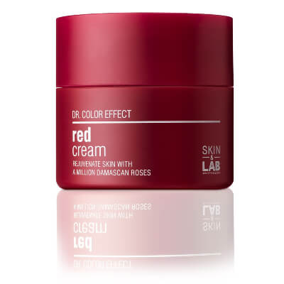 Skin & Lab Red Cream shows positive results for skin lightening and brightening due to the presence of hyaluronic acid serums
