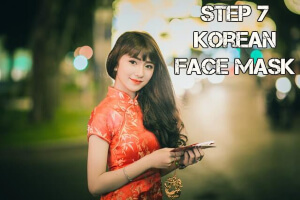 Step 7 Korean Face Mask