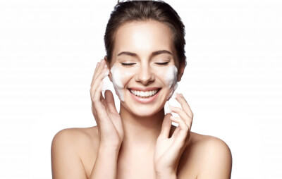 The initial step of the Korean skin care regime is to cleanse your skin by going through two procedures