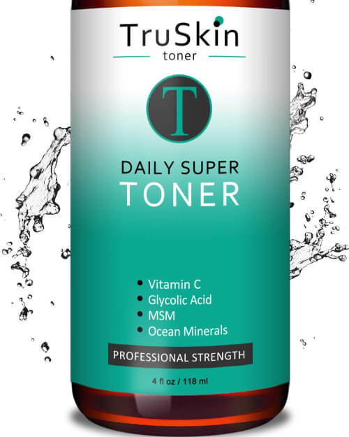 TruSkin Daily Facial Toner contains an adequate amount of hydrates to moisturize the skin