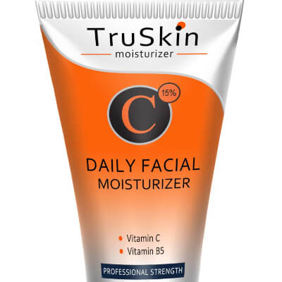 TruSkin Naturals Daily Facial Moisturizer's most striking feature is its prowess of being anti-aging