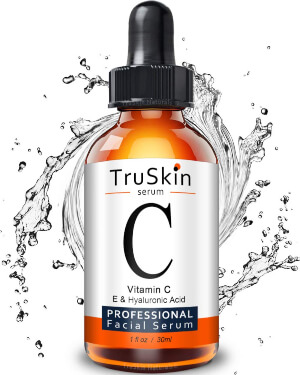 TruSkin Naturals Vitamin C Serum For Face is a great source of vitamin C which is a powerful anti-aging